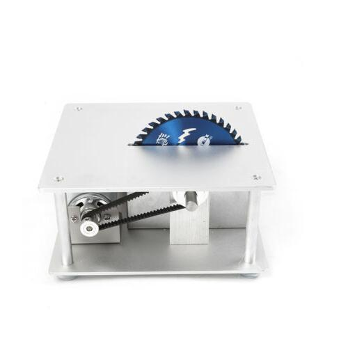 Electric Top Table Saw Woodworking with 3 Blades+cutting