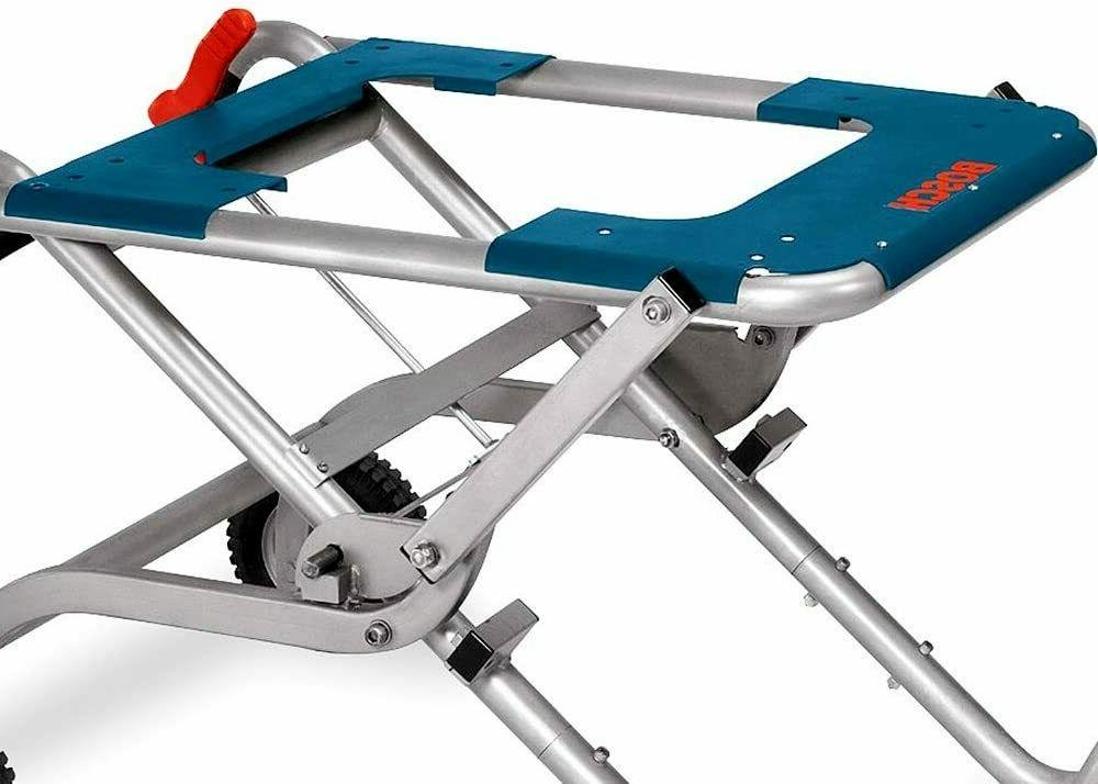 Gravity Table Stand Wheels Portable Folding US