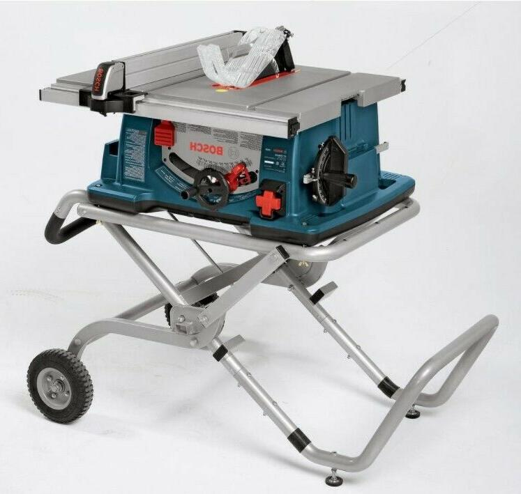 Gravity Saw Stand Heavy Rolling Dolly US