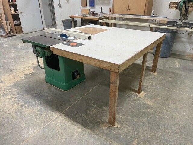 Powermatic - - 10'' table 3HP 3 Bisemeyer Fence