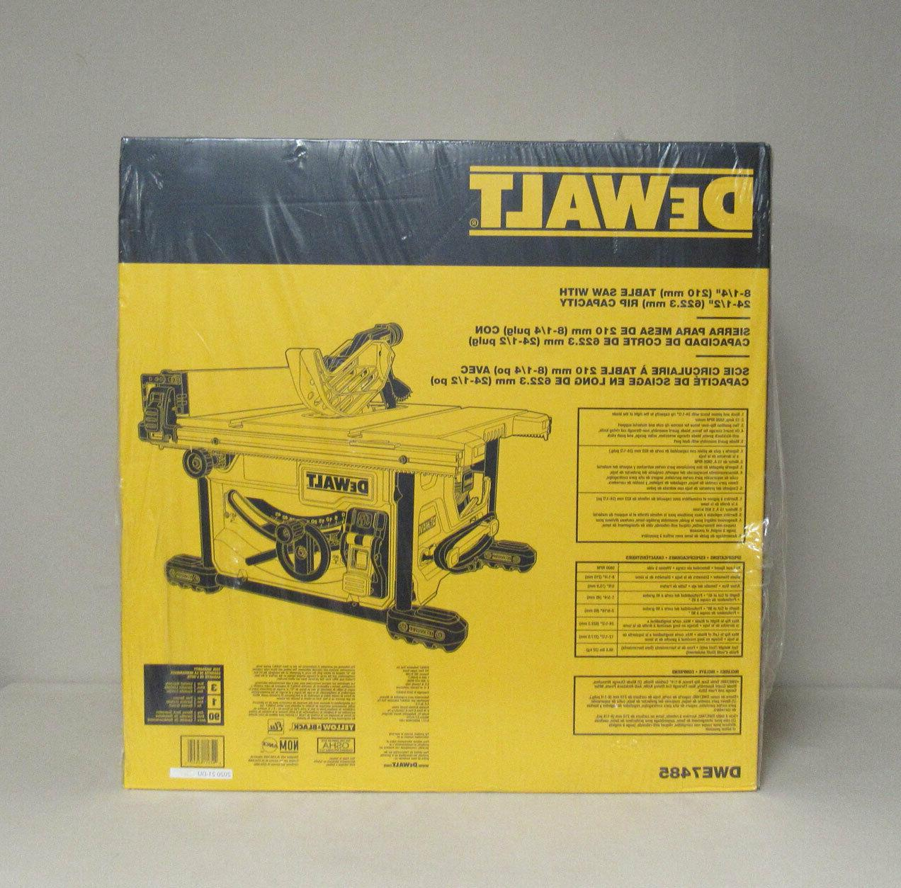 *NEW* DEWALT Corded 15 Amp Jobsite
