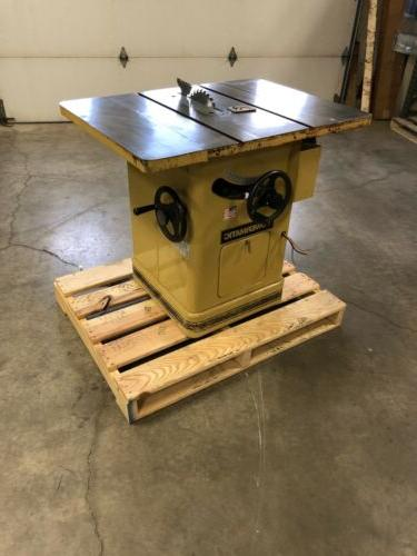 pre owned 66 ta table saw 5hp