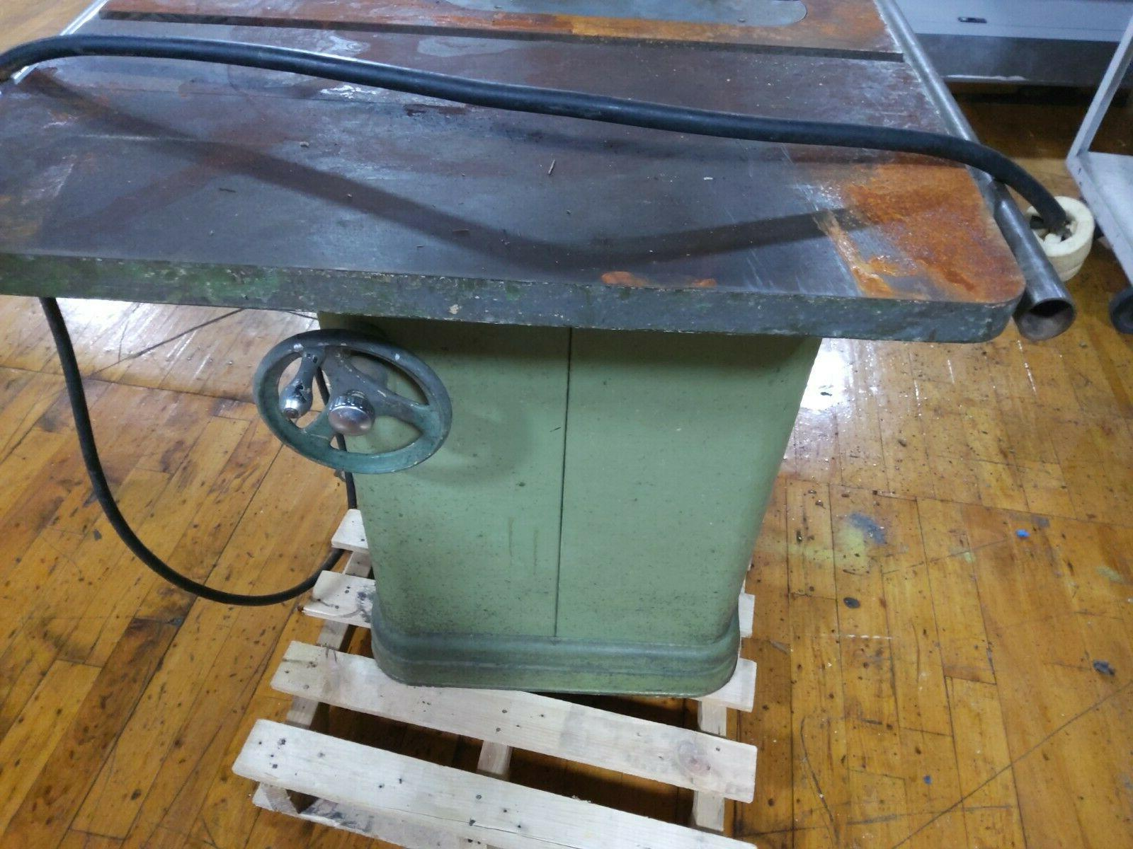 Rockwell Table With Motor