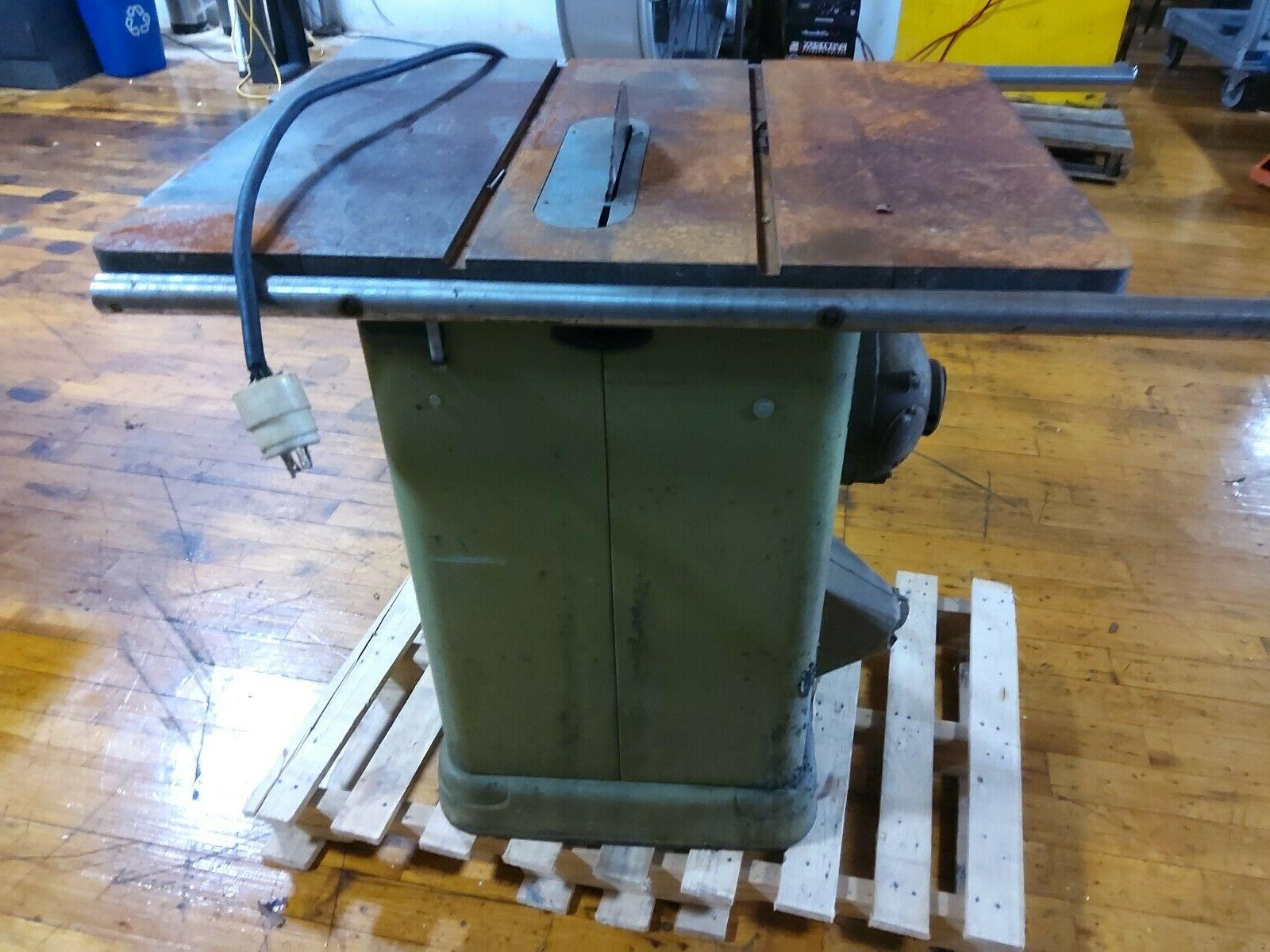 rockwell table saw 10 with motor