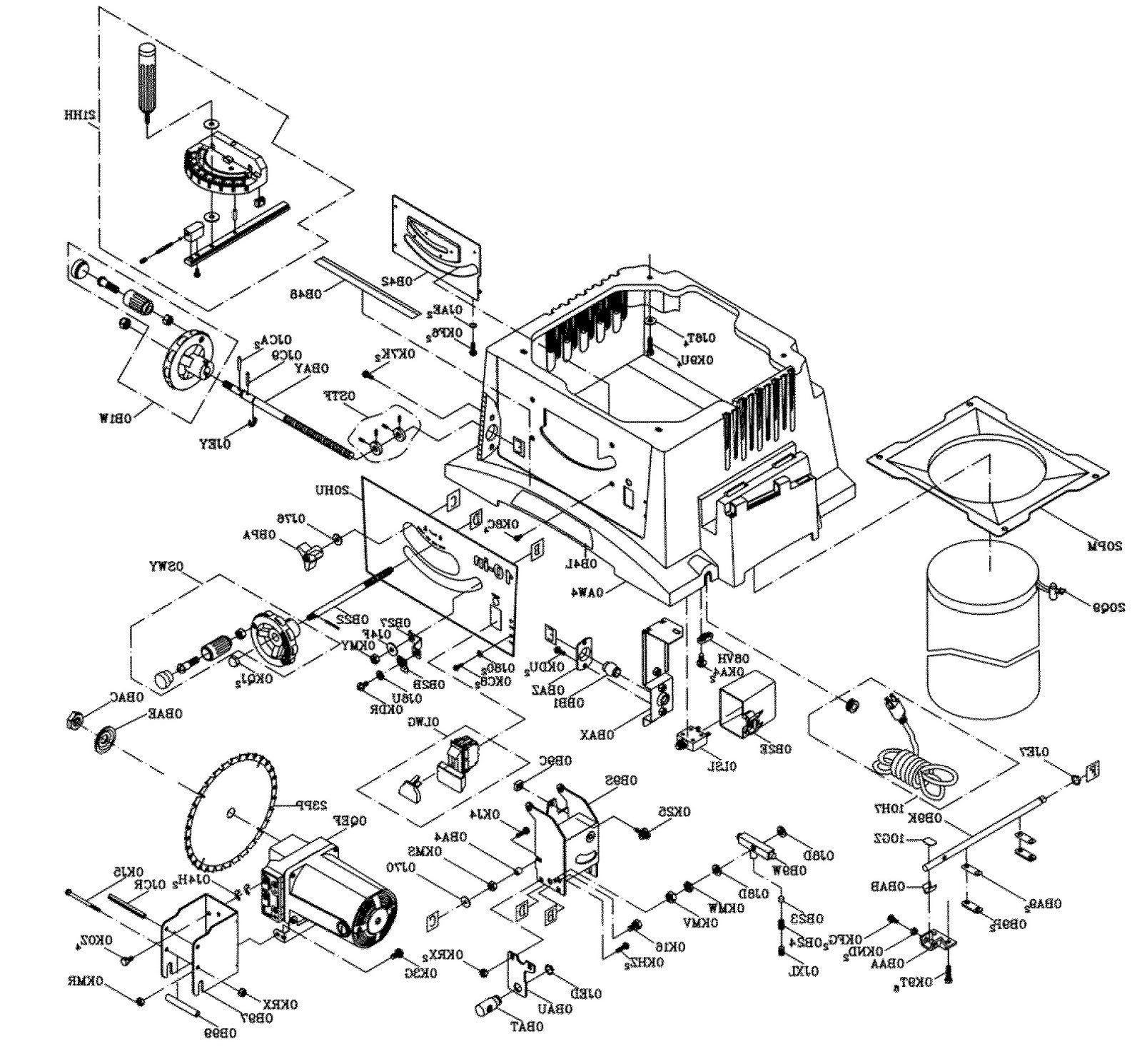 Sears Rebuild for 137.xxxxxx Motorized Table Saws