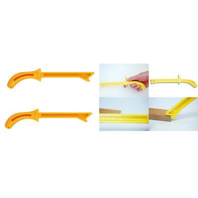 2pcs Plastic Safety Wood Saw Push Stick for Radial Saws Wood
