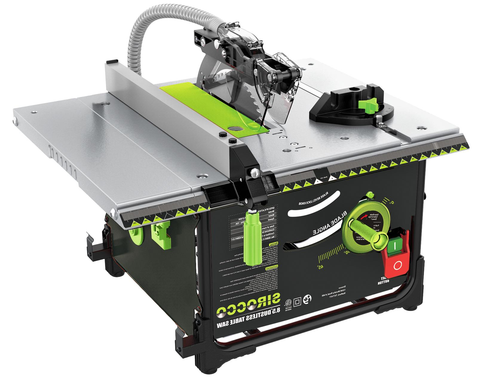 """Sirocco 98.5% Dustless 8.5"""" Table Saw"""