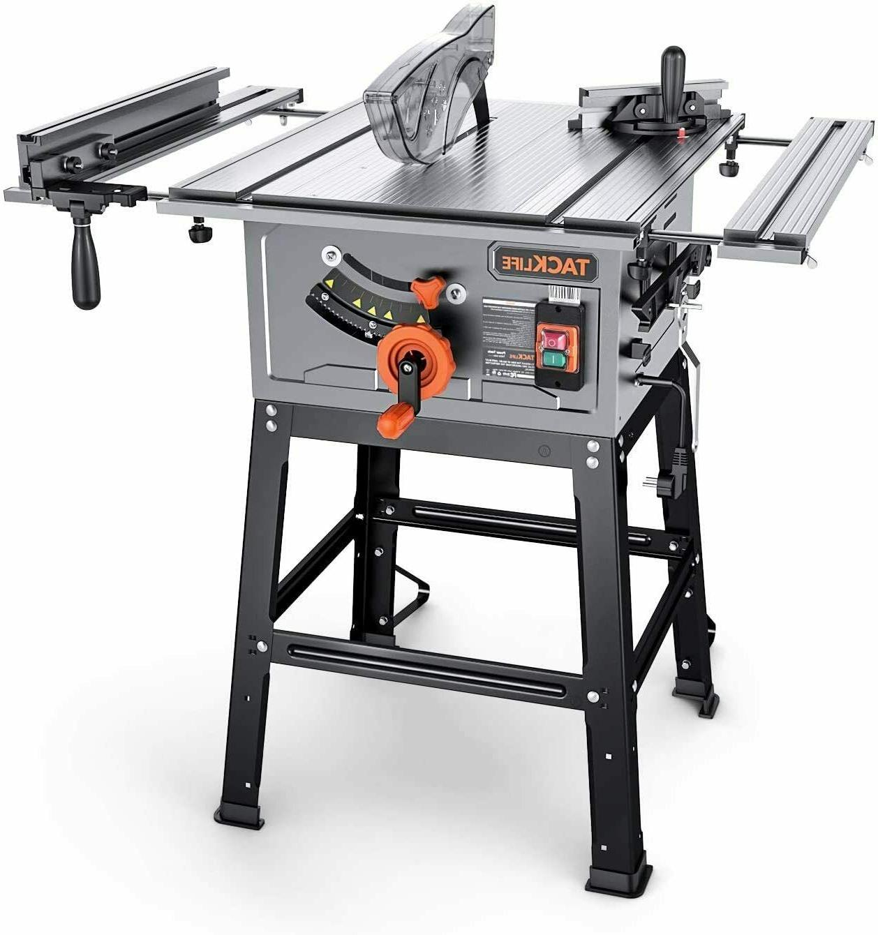 table saw 10 inch 15 amp table