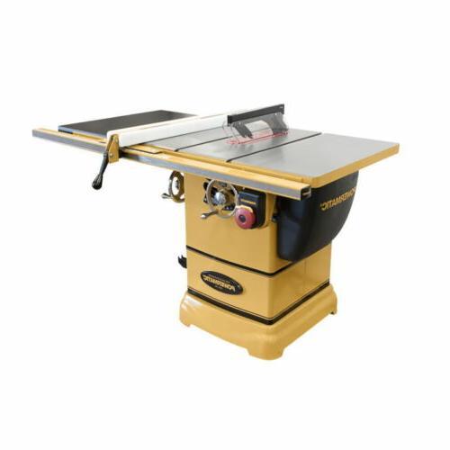 "Powermatic 1791000K Table Saw-1-3/4HP, 1PH, 30"" Rip w/Accu-F"