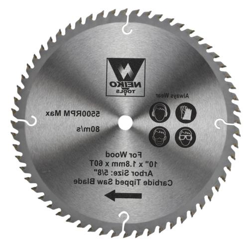 """Table Saw Blades for Wood Carbide Tipped 10"""" inch x 60 Teeth"""