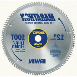 Irwin Industrial Tool 12in. 100T Marathon Miter & Table Saw