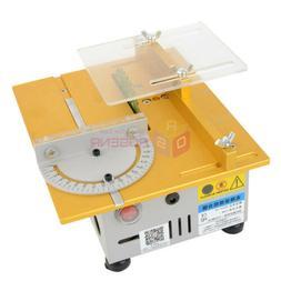 Mini Table Saw/12V-24V Portable DIY Wood Cutting Machine Car