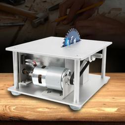 Mini Table Saw Blade Woodworking Bench Cutting Tool Machine