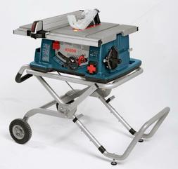 portable folding gravity rise table saw stand