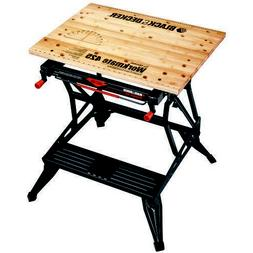 Portable Folding Work Support Vise Bench Table Heavy Duty Wo