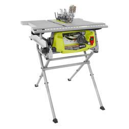 RYOBI Portable Table Saw 10 in. 15 Amp Motor Blade Guard Sys