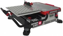PORTER-CABLE Tabletop Sliding Table Tile Saw Cordless Cast-M