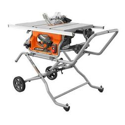 RIDGID R4514 10 in. Pro Jobsite Table Saw with Stand