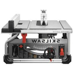 Skil SPT70WT-22 10-Inch 15-Amp Worm Drive Table Saw with Dia