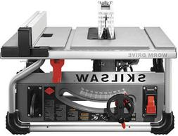 """Skilsaw SPT70WT-22 10"""" Portable Worm Drive Table Saw With Di"""
