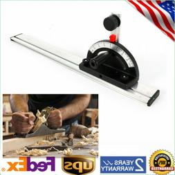 Table Saw BandSaw Router Angle Miter Gauge Mitre Guide Fence