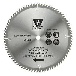 """Table Saw Blades For Wood Carbide Tipped 10"""" x 80 Teeth"""