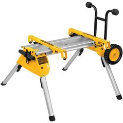 Rolling Table Saw Stand Heavy Duty Large Rubber Feet Lightwe