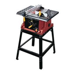Table Saw With Stand, 15-Amp, 10-In.