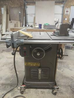 delta unisaw table saw model 34-450