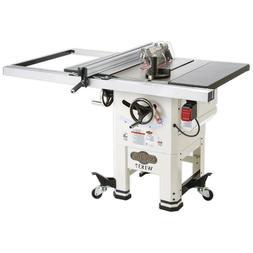 """Shop Fox W1837 2 HP 120V/240V 10"""" Hybrid Open Stand Table Sa"""