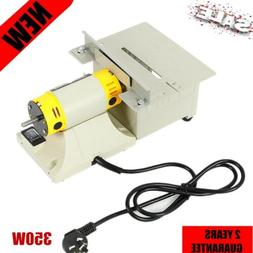 Woodworking Bench Lathe Electric Polisher Grinder Mini Table